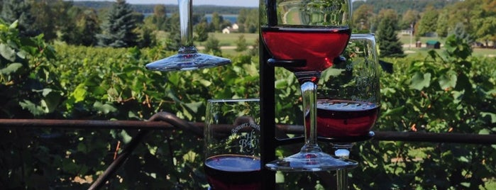 Bowers Harbor Vineyards is one of US Trip 2017.