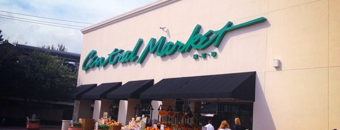 Central Market is one of Houston Eats.