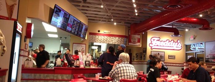 Freddy's Frozen Custard & Steakburgers is one of Albuquerque.