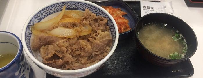 Yoshinoya is one of 西院 : понравившиеся места.