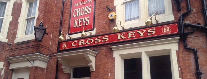 The Cross Keys is one of Carl'ın Beğendiği Mekanlar.