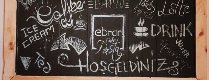Ebrar Cafe Pasta is one of Konya'da Café ve Yemek Keyfi.