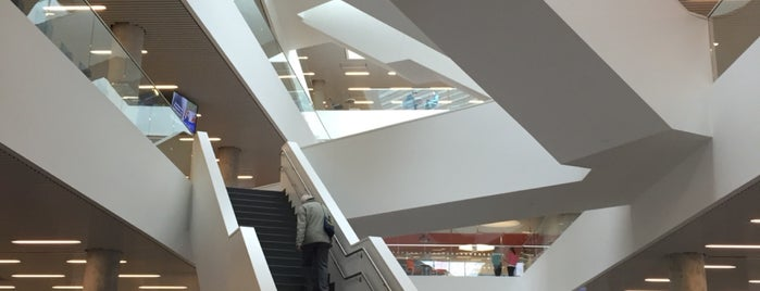 Halifax Central Library is one of Halifax, Nova Scotia.