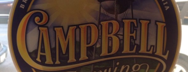 Campbell Brewing Company is one of Breweries - Southern CA.
