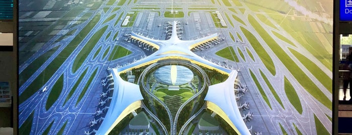 Qingdao Liuting International Airport (TAO) is one of สถานที่ที่ Shank ถูกใจ.