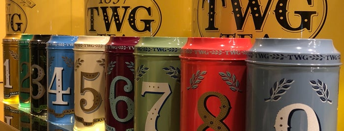 TWG Tea Salon & Boutique is one of Tempat yang Disukai Shank.