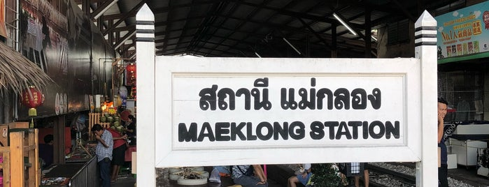 Maeklong Market is one of Shankさんのお気に入りスポット.