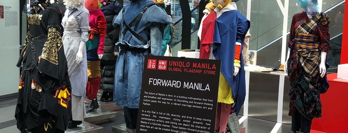 Uniqlo ユニクロ Manila Global Flagship Store is one of Lieux qui ont plu à Shank.