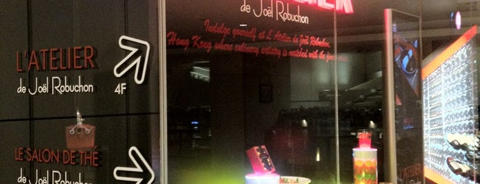 L'Atelier de Joël Robuchon is one of HK Nighty Nights.