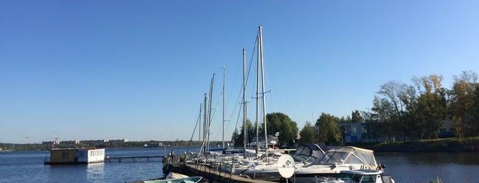 Яхт-клуб «Пирогово-Энергия» is one of Anastasia'nın Beğendiği Mekanlar.