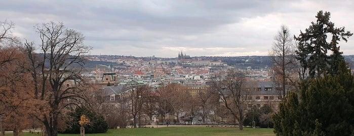Vyhlídka Riegrovy sady is one of Prague.