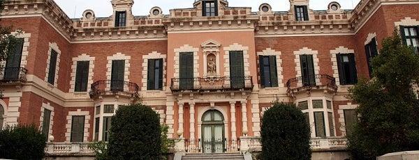 Casa Gallart i Parc de les Heures is one of Ruta a Horta-Guinardó. La ruta arquitectònica.