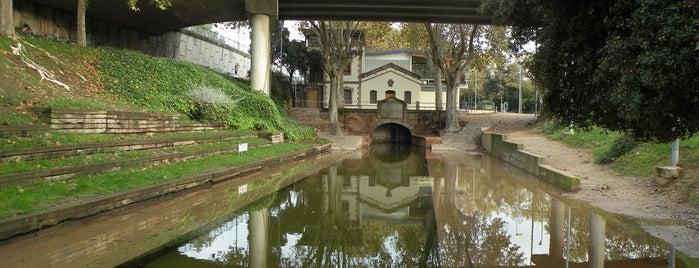 Rec Comptal is one of Ruta a Sant Andreu. La ruta arquitectònica.
