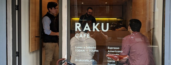 Raku is one of Cafecito//Desayunito.