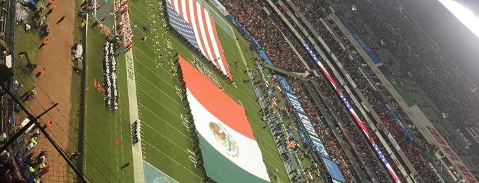 Zona Palcos Estadio Azteca is one of สถานที่ที่ Soy ถูกใจ.