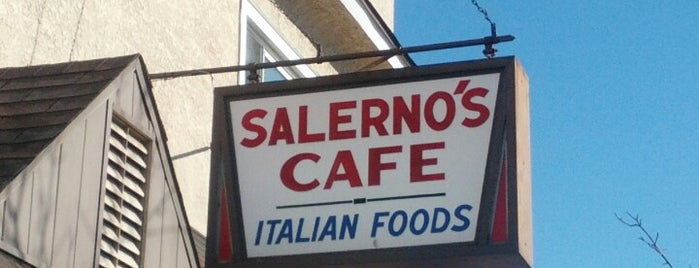 Salerno's Cafe is one of Wyoming Valley.
