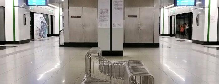 RapidKL Muzium Negara (SBK15) MRT Station is one of 高井さんのお気に入りスポット.