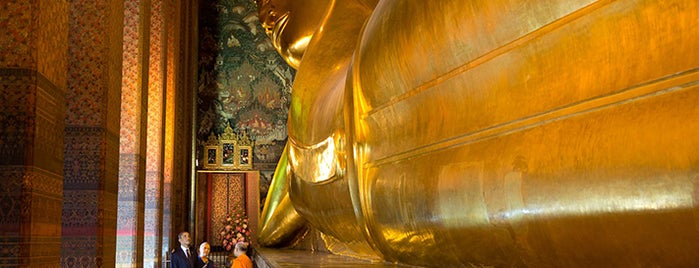 Wat Pho is one of President Obama's Asia Trip 2012.