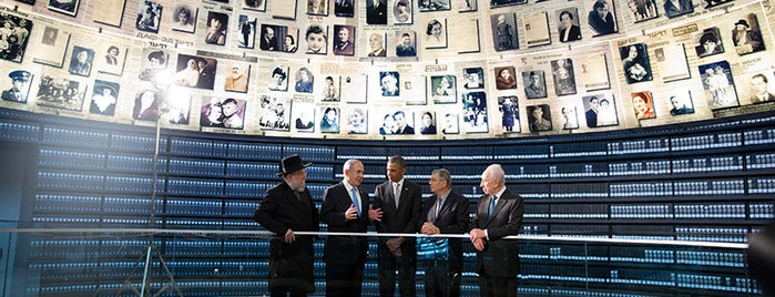 Yad Vashem is one of President Obama's Trip to the Middle East.