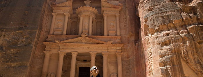 Petra is one of President Obama's Trip to the Middle East.