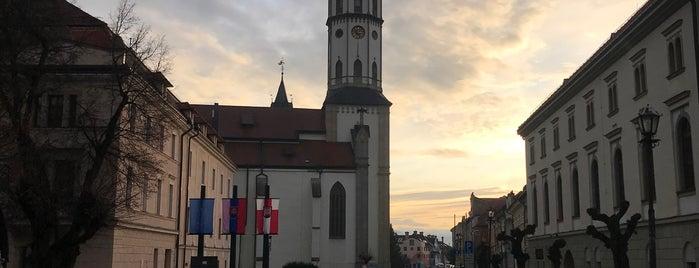 Levoča is one of UNESCO World Heritage Sites in Eastern Europe.