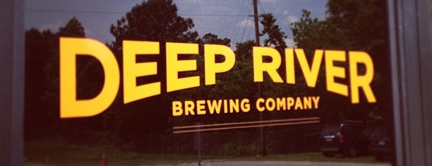 Deep River Brewing Co is one of Triangle Area Breweries.