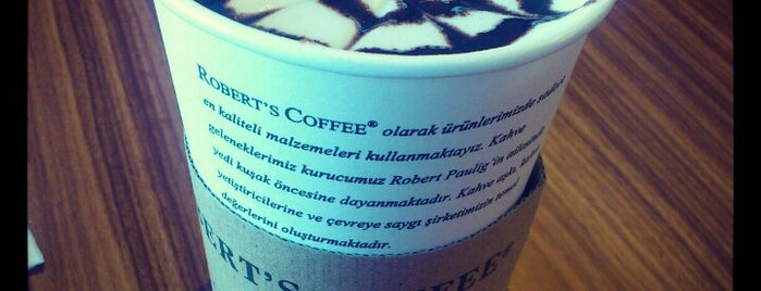 Robert's Coffee is one of Orte, die Barış gefallen.