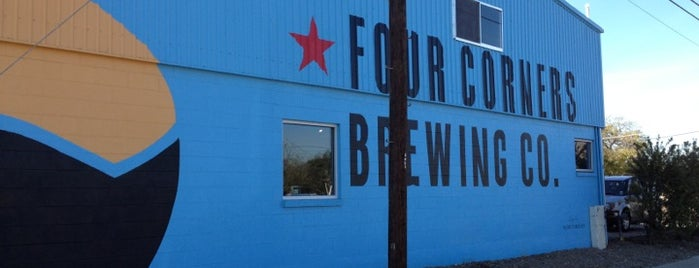 Four Corners Brewing Co is one of Texas Craft Breweries.