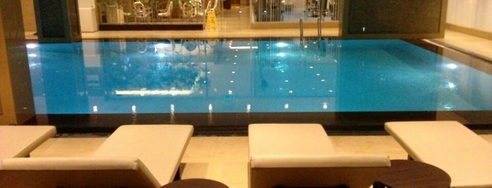 Retaj Royale Hotel - Four Elements Spa & Wellness is one of Tempat yang Disukai Hakan.