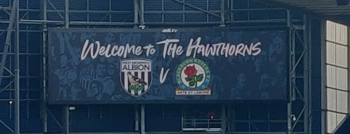 The Hawthorns is one of Part 1~International Sporting Venues....