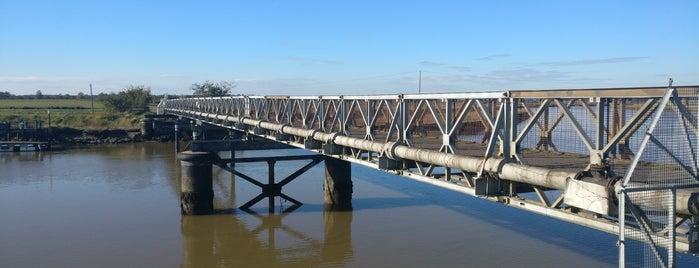 Bailey Bridge is one of Southwold 2018.
