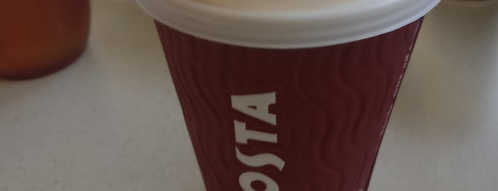 Costa Coffee is one of Orte, die Shaun gefallen.