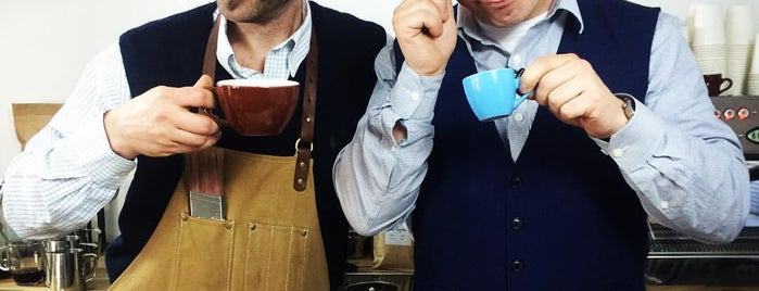 The Gentlemen Baristas is one of London list.