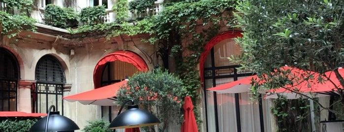 La Cour Jardin is one of Cuisine française.