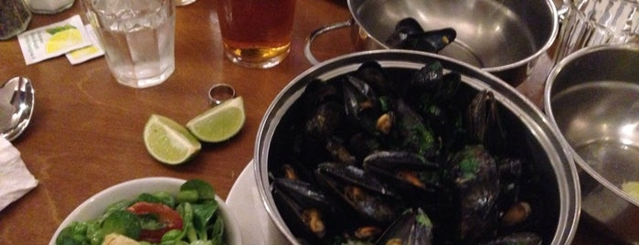 Belgo is one of London's great locations - Peter's Fav's.
