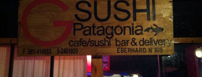 Sushi Patagonia is one of Sebastian's Liked Places.
