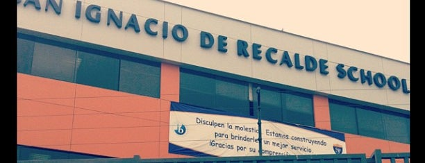 Colegio San Ignacio de Recalde is one of Sebastian 님이 좋아한 장소.