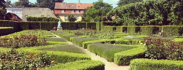 Rosenborg Slot is one of Denmark • Copenhagen.