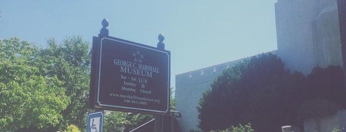 George C. Marshall Museum is one of Lexington VA.