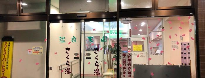 温泉天国 さくら湯 is one of Locais curtidos por Mint=Euphoria.