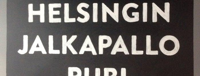 Helsingin Jalkapallopubi is one of Brewski.
