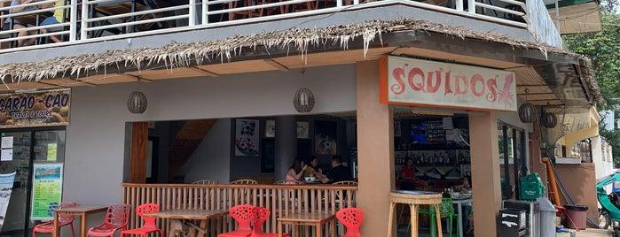 Squido's is one of สถานที่ที่ Anibal ถูกใจ.