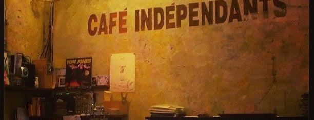 Café Indépendants is one of Lieux sauvegardés par y.hori.
