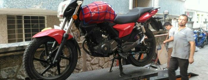 Ada Motorsiklet is one of Lieux qui ont plu à Barış.