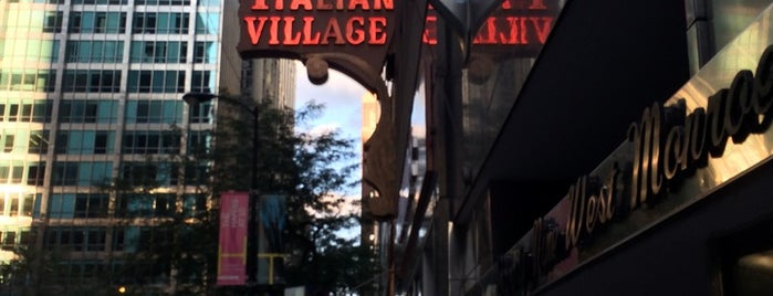 Italian Village is one of ten oldest - Chicago.
