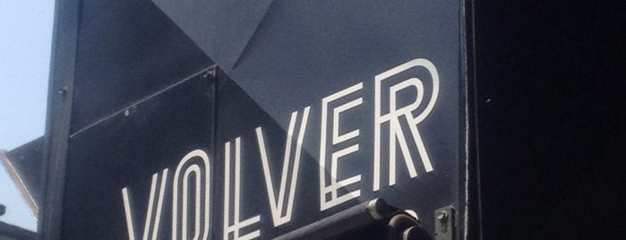 Volver is one of CAFÉ top places.