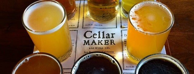 Cellarmaker Brewing Company is one of Breweries in San Francisco.