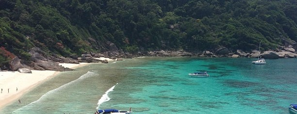 Similan Island No.4 is one of Orte, die Vee gefallen.