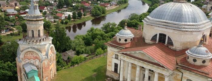 Новоторжский Борисоглебский монастырь is one of Marina : понравившиеся места.