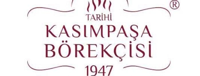 Tarihi Kasımpaşa Börekçisi 1947 is one of Istanbul.